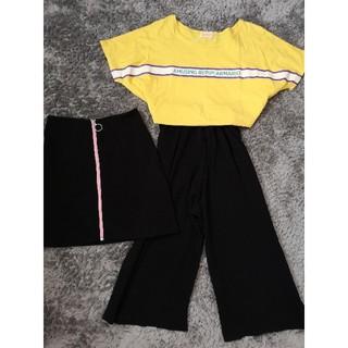 レピピアルマリオ(repipi armario)の女の子 150cm まとめ売り レピピアルマリオ 韓国子供服 プリーツガウチョ (その他)
