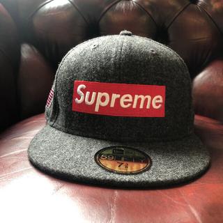 Supreme - supreme new era 7 3/8 新品未使用