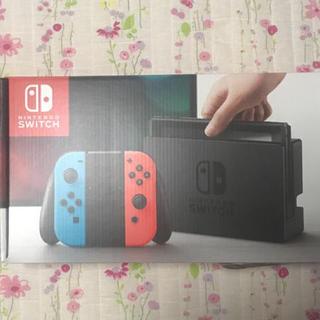 ニンテンドースイッチ(Nintendo Switch)のニンテンドースイッチ ネオンカラー新品未開封(携帯用ゲーム本体)