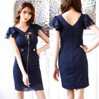 dazzy store - フロントファスナー  ドレス Lサイズ