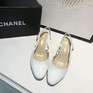 シャネル(CHANEL)のChanel シャネル レディース ハイヒール ホワイト(ハイヒール/パンプス)