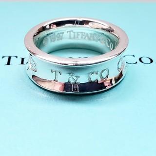Tiffany & Co. - 正規品 ティファニーリング 1837 ナローリング 9号