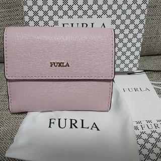 フルラ(Furla)の新品! FURLA フルラ バビロン 二つ折り財布 ピンク camelia(財布)