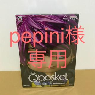 バンプレスト(BANPRESTO)のQposket hide フィギュア メタリックカラー 3体セット(ミュージシャン)