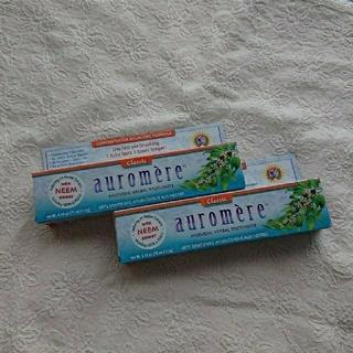 オーロメア(auromere)のauromere オーロメア 歯みがき粉 2本(歯磨き粉)