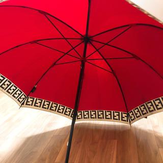 フェンディ(FENDI)のフェンディ  傘 ワインレッド(傘)