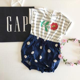 ベビーギャップ(babyGAP)の新品♡今季♡baby gap♡ロンパース ドット/ラルフローレン ユニクロ  他(ロンパース)