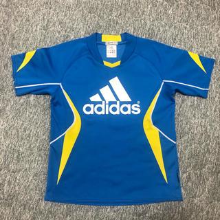 adidas - サッカーTシャツ(ブルーadidas)