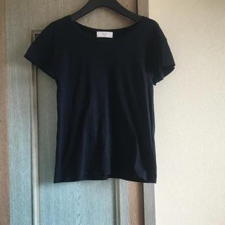 イエナスローブ(IENA SLOBE)のイエナスローブ クルーネックTシャツ フレンチスリーブTシャツ カットソー(Tシャツ(半袖/袖なし))
