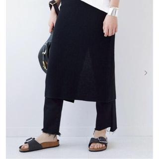 ドゥーズィエムクラス(DEUXIEME CLASSE)のMADISONBLUE WAFFLE スカート シャツセット(ロングスカート)