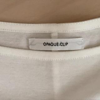 オペークドットクリップ(OPAQUE.CLIP)のopaque 半袖カットソー(カットソー(半袖/袖なし))