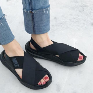 ナイキ(NIKE)のナイキ  Nike Praktisk Sandal ブラック 22.0(サンダル)