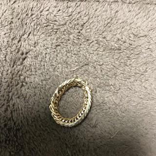 喜平リング k18 12面 トリプル 9号(リング(指輪))