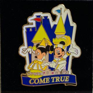 Disney - アメリカ ディズニー ミッキー ミニーDream COME TRUEピンバッチ☆