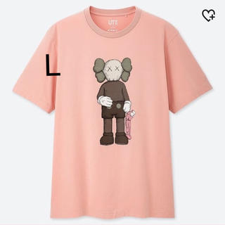 UNIQLO - UNIQLO KAWS  ユニクロ カウズ Tシャツ Lサイズ