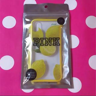ヴィクトリアズシークレット(Victoria's Secret)の【レア】victoria's secret PINK スマホカバー X.XS(iPhoneケース)
