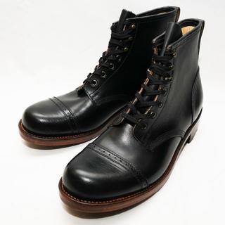 ダブルアールエル(RRL)の新品 定価14万 US6.5 BLK JULIAN BOOTS BOWERY(ブーツ)