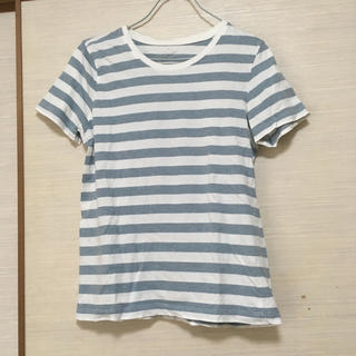 MUJI (無印良品) - 無印良品☆ボーダーTシャツ