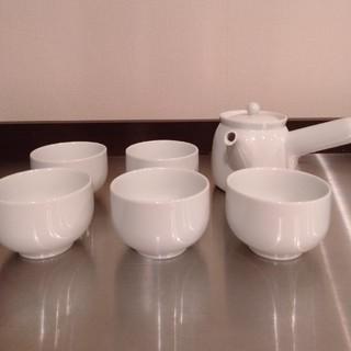 ムジルシリョウヒン(MUJI (無印良品))の無印良品 白磁 茶器セット(食器)