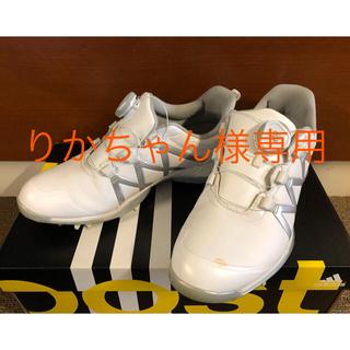 アディダス(adidas)の【専用】アディダス ゴルフシューズ レディース23.5(シューズ)