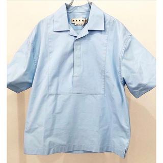 マルニ(Marni)のmarni 17ss オープンカラー シャツ カワグチジン着用(シャツ)