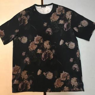 ラッドミュージシャン(LAD MUSICIAN)のラッドミュージシャン lad musician 花柄 ビックTシャツ(Tシャツ/カットソー(半袖/袖なし))