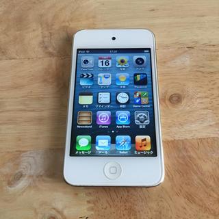 Apple - iPod touch 4世代 ホワイト