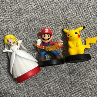 Nintendo Switch - 任天堂 アミーボ 3体まとめ売り
