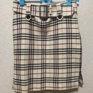 バーバリーブルーレーベル(BURBERRY BLUE LABEL)のBurberry BLUE LABEL チェック柄スカート(ひざ丈スカート)