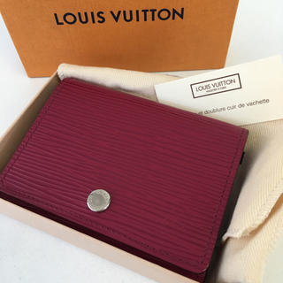 LOUIS VUITTON - ★新品未使用★ルイヴィトン エピ カードケース☆正規品☆