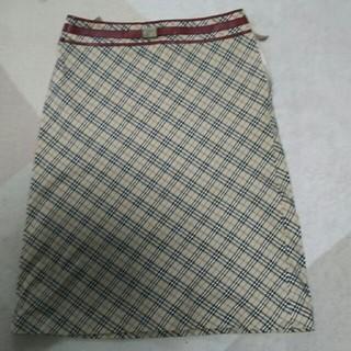 バーバリーブルーレーベル(BURBERRY BLUE LABEL)のバーバリー ブルーレーベル スカート 36(ひざ丈スカート)