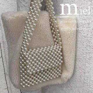 エディットフォールル(EDIT.FOR LULU)のshoulder perl bag/ショルダーパールバッグ(ショルダーバッグ)