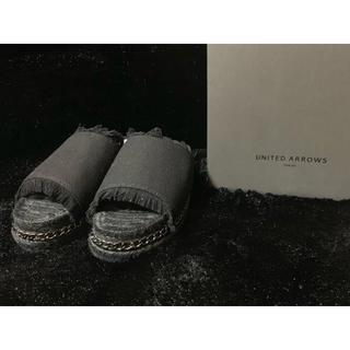 ユナイテッドアローズ(UNITED ARROWS)の新品 定価15000円 ユナイテッドアローズ サンダル マッカートニー(サンダル)