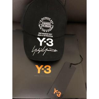 ワイスリー(Y-3)のY-3キャップ(キャップ)