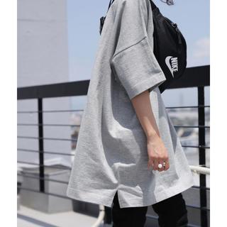 アンティカ(antiqua)の大人気!antiqua バスクTシャツ グレー サイズM(Tシャツ(半袖/袖なし))