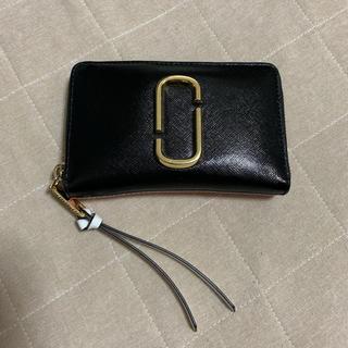 マークジェイコブス(MARC JACOBS)の美品 マーク ジェイコブス 二つ折り財布(財布)