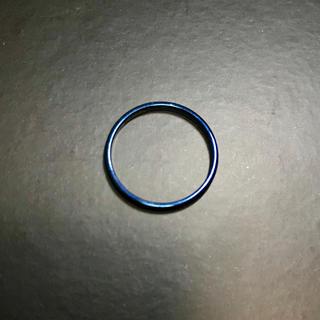 ブルー ステンレス リング(リング(指輪))