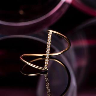 ダイヤモンド リングK18 (リング(指輪))
