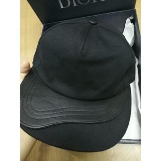 ディオール(Dior)のDior ディオール キャップ 男女通用 ブラック(キャップ)