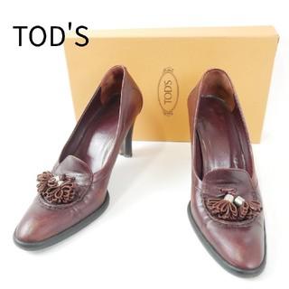 TOD'S - TOD'S トッズ 37サイズ  ハイヒール