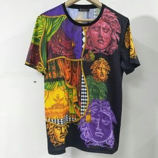 ヴェルサーチ(VERSACE)の超美品VERSACE メンズ Tシャツ 夏コーデ ファッション 新品 L(Tシャツ/カットソー(半袖/袖なし))