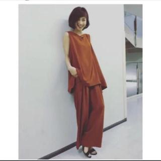 ENFOLD - 安田美沙子さん着用 エンフォルド ENFOLD セットアップ オールインワン
