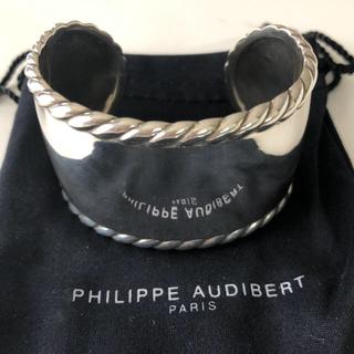 フィリップオーディベール(Philippe Audibert)の新品未使用 フィリップオーディベール ツイールバングル(ブレスレット/バングル)