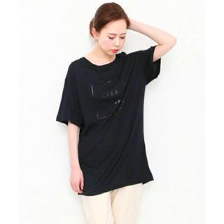 ケービーエフ(KBF)のKBF 五分袖Tシャツ ブラック×ブラック(Tシャツ(半袖/袖なし))