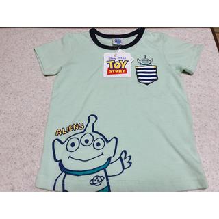 トイストーリー(トイ・ストーリー)のトイストーリー4 リトルグリーンメンTシャツ(Tシャツ/カットソー)
