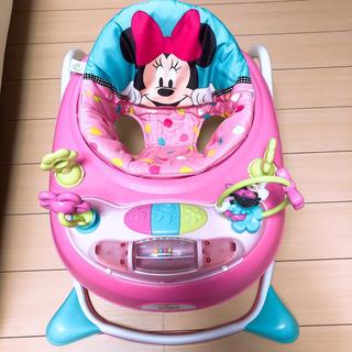 ディズニー(Disney)の歩行器 ミニーちゃん(歩行器)