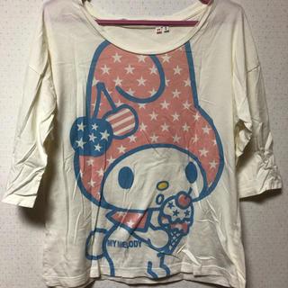 サンリオ(サンリオ)のマイメロ七分Tシャツ(Tシャツ(長袖/七分))