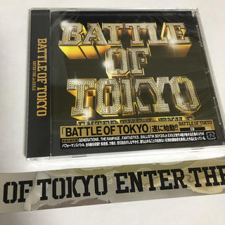 BATTLE OF TOKYO CD 銀テ付き