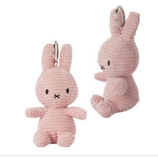 イケア(IKEA)のオランダ限定  【新品タグ付き 】コーデュロイ素材ミッフィー(ピンク)(ぬいぐるみ)