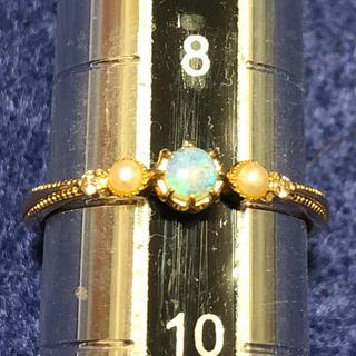 ノジェス(NOJESS)のお値下げ ノジェスオパールリング9号(リング(指輪))